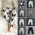 Infant Harem Pants Toddler Baby Boys Girls Trousers Pants Leggings Bottoms 0-3Y