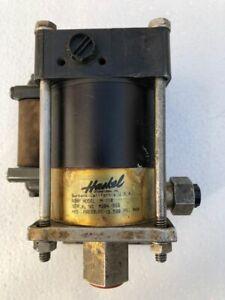 HASKEL M-110 AIR DRIVEN LIQUID/ FLUID PUMP 13500 PSI BAR MAX WP