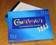 Compatibility Board Game  - Vintage 1996 Mattel - Complete & Nice