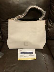 Dooney & Bourke Florentine Extra Large Courtney Sac Shoulder Bag In Ecru