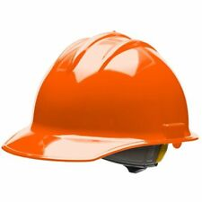 Bullard 30ORR Cap Style Hard Hat with Ratchet Suspension in Orange