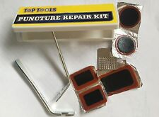 Top Tools Multi ByCycle Tool with Box and Bicycle Puncture Basic Repair Kit UK