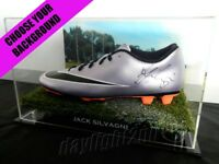 ✺Signed✺ JACK SILVAGNI Football Boot PROOF COA Carlton Blues 2019 Guernsey