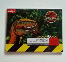 Vtg 1997 Jurassic Park The Lost World Velociraptor Photo Album Meijer Kodak RARE