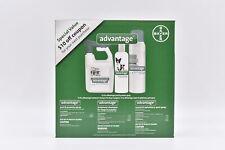 Advantage Flea & Tick Kit: Yard & Premise Spray, Dog Shampoo, & Carpet Spray