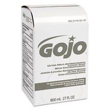 Gojo Ultra Mild Antimicrobial Lotion Soap 800-ml Bag-In-Box Dispenser - 921212CT