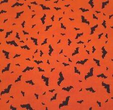 Something Wicked BTY Stephanie Marrott Wilmington Black Bats on Orange