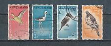 New Zealand  B57 - 60 used, Birds, 1959-60