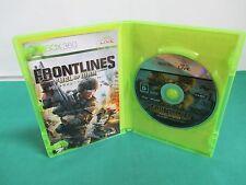 Xbox360 -- FRONTLINES FUEL of WAR -- JAPAN. GAME. Work. 51066