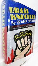 Brass Knuckles (Oliver Quade Human Encyclopedia), Frank Gruber, 1966, Sherbourne
