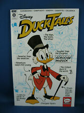 DUCKTALES 0 NM UNCLE SCROOGE 1 OUT OF 10 RARE 2017