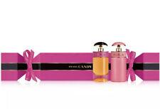 NEW Prada Candy & Candy Gloss Cracker Box Perfume Set .24 oz ea Mini Size