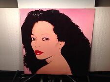 DIANA ROSS -Silk Electric ~RCA 4384 {orig} >VERY RARE ANDY WARHOL COVER & SLEEVE