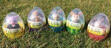 Peter Rabbit Easter Egg Figures - Complete Set of 5 - Official Movie Merchandise