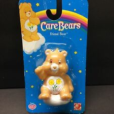 Care Bears Friend Bear PVC Figure Rare 1983 Vintage Toy