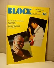 Block BLUES Magazine 1987 / 63 Lil' Ed & Blues Imperials - Ted Hawkins