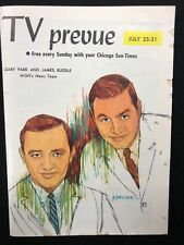 TV PREVUE Chicago Sun-Times digest July 25 1965 photo from The Hustler