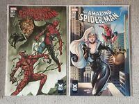 Amazing Spider-Man 194 & 361 - Redrawn Covers - La Mole Variants - NM+