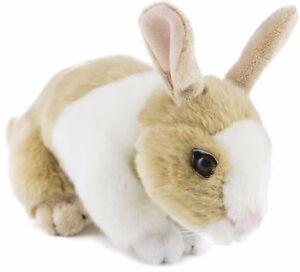 Rabbit White and Tan Bunny Plush Stuffed Soft Toy 25cm/10in Mopsy by Bocchetta
