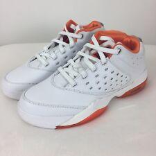 new styles 7ffd3 46c17 New ListingNike Air Jordan Melo 5.5 Men s Size 8 Low White Metallic Silver  Orange Blaze