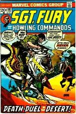 SGT FURY 107 VF SERGEANT & HIS HOWLING COMMANDOS 1963 MARVEL NICK AGENT SHIELD