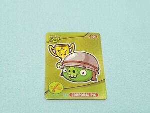 Angry Birds Go!  Trading Cards Limited Edition Corporal Pig Limitierte Auflage
