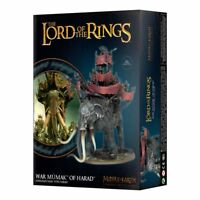 Herr der Ringe Kriegsmumak of Harad Games Workshop LotR Hobbit Haradrim mumak
