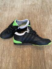 Adidas Y3 Yamamoto Schuhe Boxing Gr. 42, Schwarz mit Neon-Grün