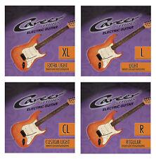 E-guitarras cuerdas: career strings en reforzar dif.