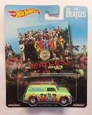 HOT WHEELS 2017 POP CULTURE THE BEATLES AUSTIN MINI VAN NEW IN HAND