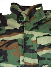M65 Pattern Field Jacket Men's Large Camouflage Lined Army Military LJKTA441