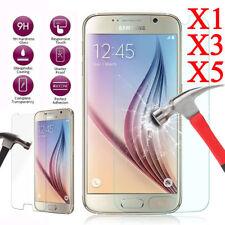 5X Tempered Glass Screen Protector Film fr Samsung Galaxy J3 J5 J7 Pro 2017 Lot