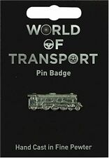 Steam Train Pewter Lapel Pin Badge