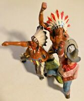 ANTIQUE 1920s Native American INDIAN TOY
