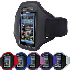 SPORT GYM ARMBAND JOGGING RUNNING CYCLING FOR NOKIA N8 CASE COVER POUCH HOLDER