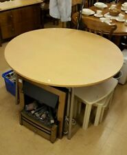 Unbranded Beech Extending Kitchen & Dining Tables