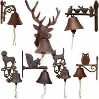 NEW Cast Iron Doorbell Front Garden Gate Ornament Traditional Feature Door bell