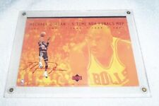 Michael Jordan Chicago Bulls 5 X NBA Finals MVP Replica Auto Jumbo Card rare