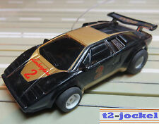 para H0 coche slot racing Maqueta de tren - LAMBORGHINI von TYCO, incl. 2