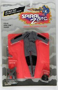 RARE 1987 Tonka Spiral Zone Jet Pilot Suit MOC sealed