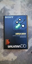 SONY Walkman WM-DD30 Megabass. Schwarz. Ohne Hülle.