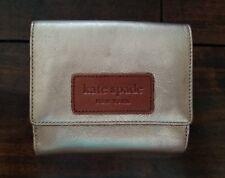 Kate Spade Gold Metallic Wallet