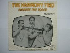 THE HARMONY TRIO 45 TOURS BELGIQUE BOOGIE ROCK'N'ROLL