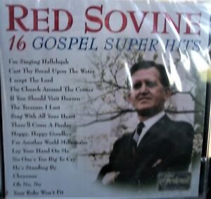 RED SOVINE: 16 Gospel Super Hits (CD,2000,Federal) The Church Around The Corner+