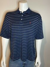 Mens Vintage Size XL Navy Blue Ralph Lauren Golf Fit Polo  Shirt