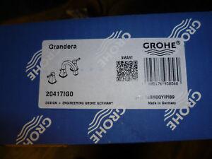 Grohe Grandera 3-Loch Waschtischbatterie mit Ablaufgarnitur, chrom/gold 20417IG0