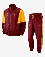 New Mens Nike Cleveland Cavaliers NBA Basketball Courtside Retro Tracksuit S - M
