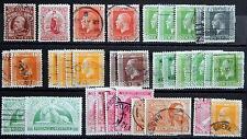 New Zealand Neuseeland ex. Kat. 123-165 used / MNH ** / MH * 1909/23