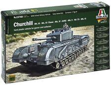 Italeri 1:56 15760: Churchill  Mk.III 75mm - MK.IV - AVRE - Mk.V - NA 75 - Mk.VI