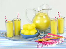 "Lemonade 9 piece set for 18"" American Girl Doll Food Accessories"